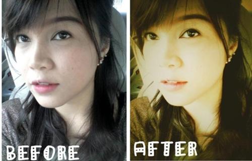 Màu ảnh thay đổi giúp tấm hình trông nghệ thuật hơn rất nhiều