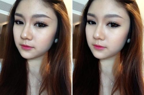 Ngay cả những cô gái xinh đẹp cũng sử dụng phần mềm chỉnh sửa để có làn da căng bóng và khuôn mặt thon gọn hơn.