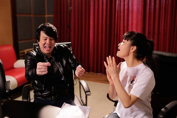 Anh chia sẻ rằng chị Trang Nhung đã cho anh cảm hứng để sau này thử sức với dòng nhạc dân ca. - Tin sao Viet - Tin tuc sao Viet - Scandal sao Viet - Tin tuc cua Sao - Tin cua Sao