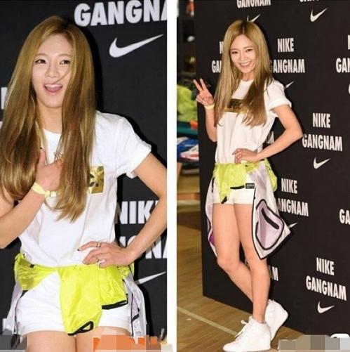 Hyoyeon khoe hình đi sự kiện của Nike