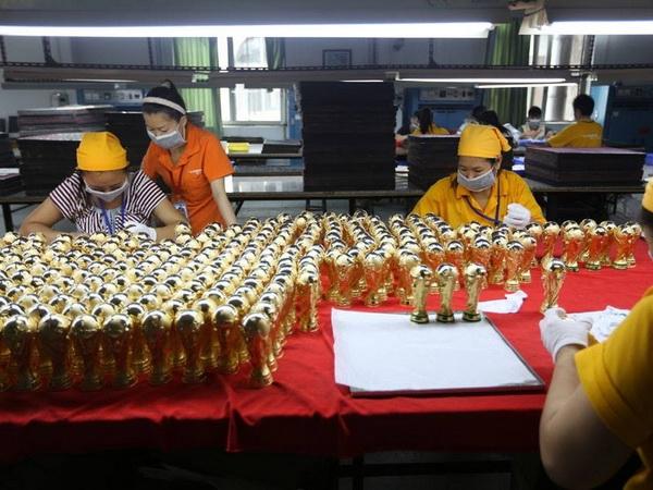 Có đến 12.000 sản phẩm khác nhau được sản xuất. (Nguồn: CCTVNews)