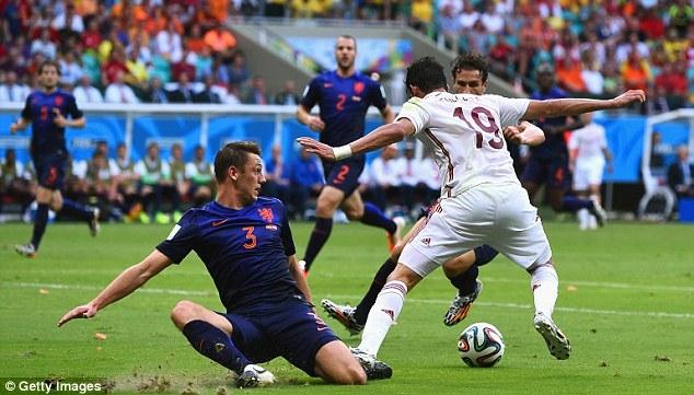 Hà Lan đã đè bẹp Tây Ban Nha 5-1
