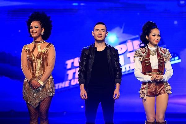 Ba ca sĩ đã mang tới cho khán giả và ban giám khảo một đêm nhạc với thể loại Soul và Disco đầy ấn tượng. - Tin sao Viet - Tin tuc sao Viet - Scandal sao Viet - Tin tuc cua Sao - Tin cua Sao