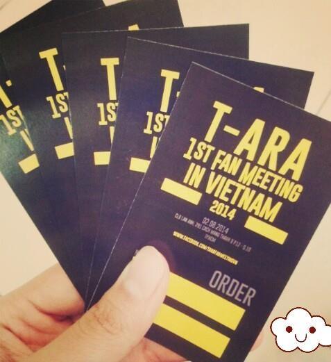 Đầu tháng 8, T-ARA tổ chức fan meeting tại TP HCM