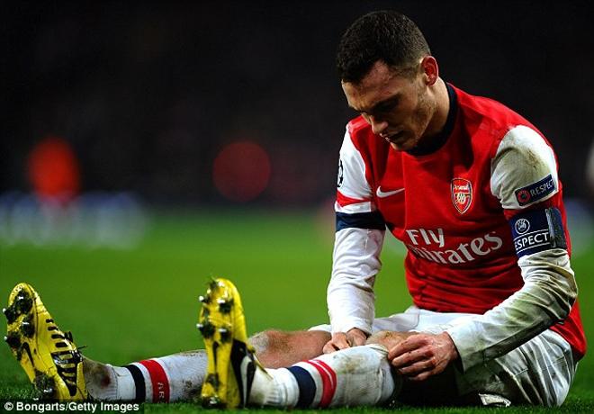 Vermaelen vừa trải qua mùa bóng thất vọng ở Arsenal