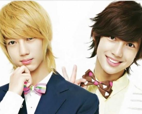 Youngmin và Kwangmin (Boyfriends) là cặp song sinh được chú ý nhiều nhất vì khi có ngoại hình và mái tóc giống Kim Hyun Joong.Hai anh em giống nhau đến nỗi có rất nhiều người tưởng rằng họ gặp ảo giác khi trông thấy 2 người giống hệt nhau ở hai nơi khác nhau. Để tránh nhầm lẫn, Youngmin và Kwangmin sau đó đã phải để hai kiểu tóc khác nhau.