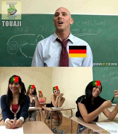 Người Đức dạy người Bồ một bài học về bóng đá