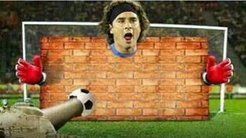 Bức tường không thể công phá