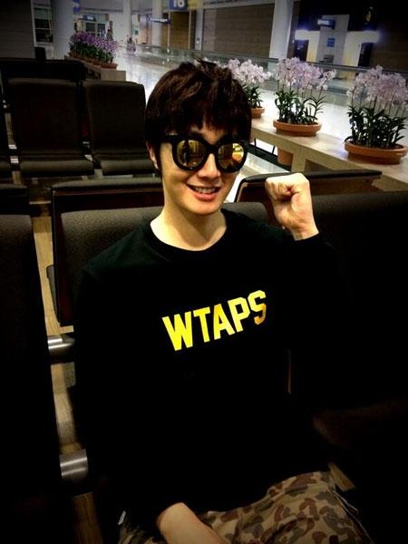 Nam diễn viên Jung Il Woo khoe hình cực dễ thương