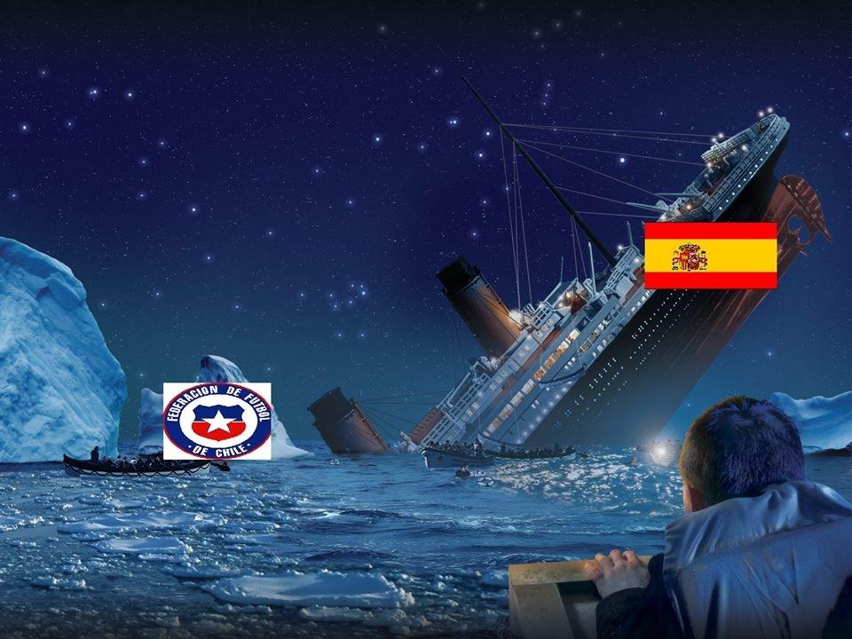 """""""Tảng băng"""" Chile đã khiến con tàu Titanic TBN chính thức """"đắm"""""""