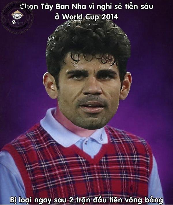 Một sự ra mắt tệ hại của Diego Costa