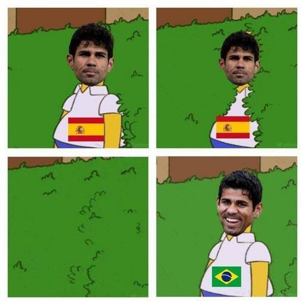 "Diego Costa: ""Ước gì... """
