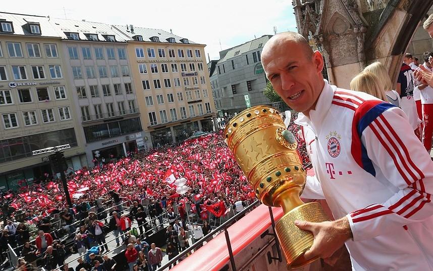 Man United sẵn sàng chi đậm vì Robben