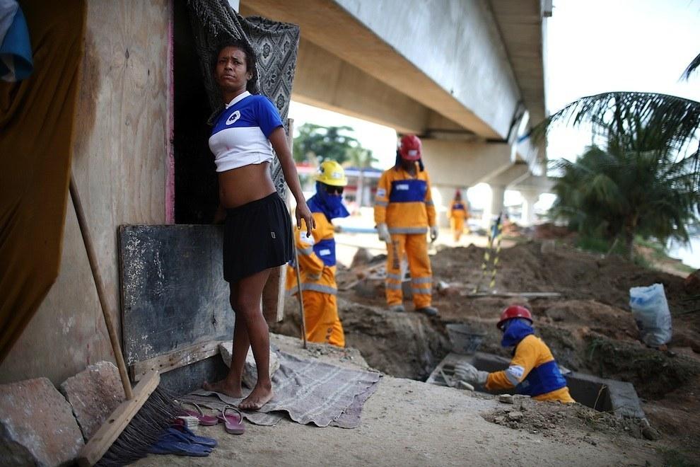 Lặng người trước một Brasil bên lề World Cup