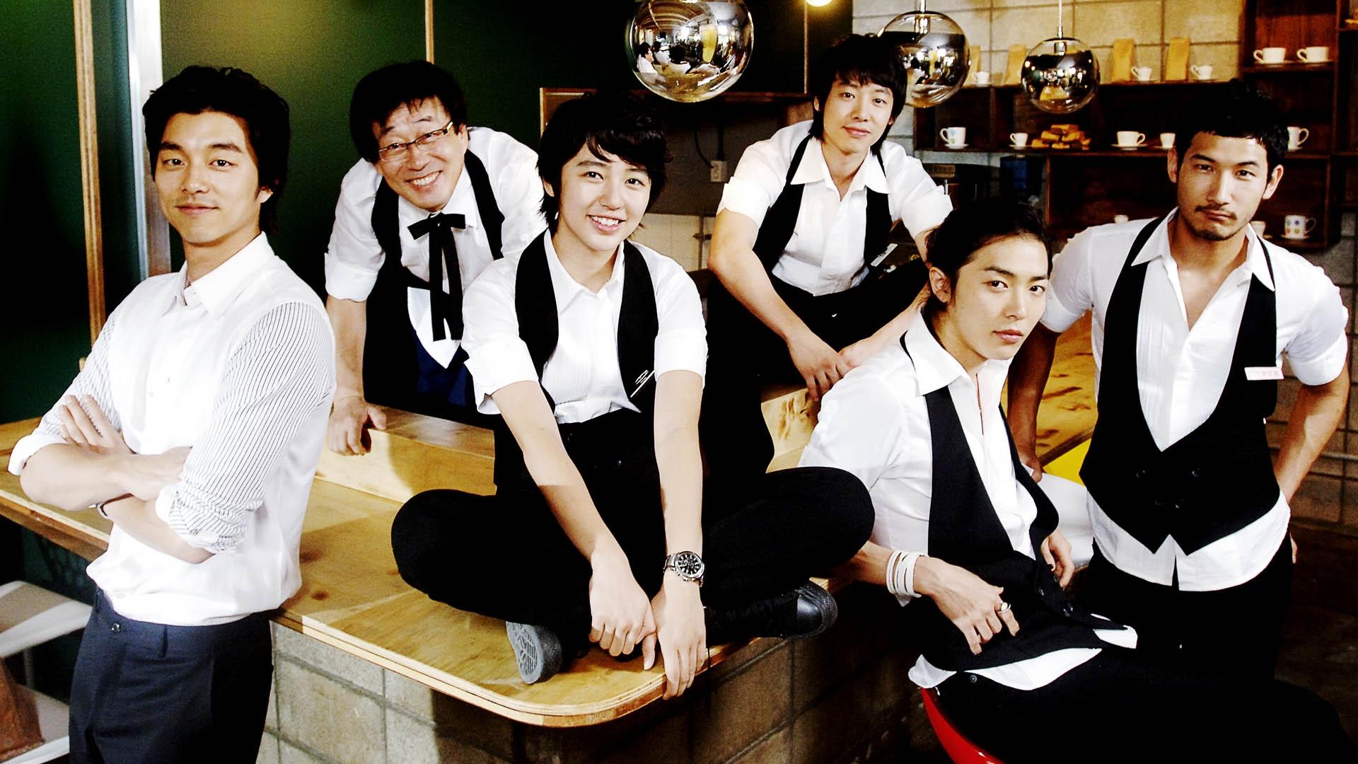 """Dù """"cải nam"""" nhưng Yoon Eun Hye vẫn nổi bật giữa dàn mỹ nam của Coffee Prince"""