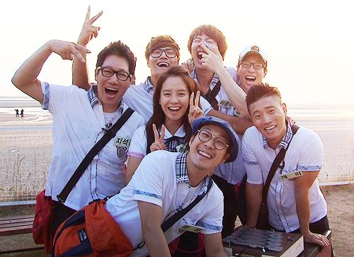 Song Ji Hyo không xa lạ gì với khán giả của Running Man khi là thành viên nữ duy nhất và được các anh chàng luôn yêu thương, bảo vệ.
