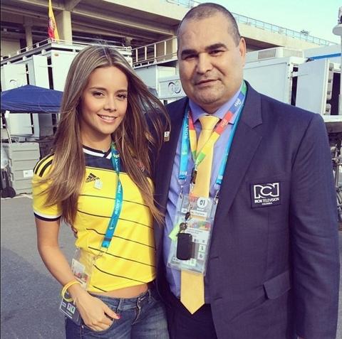 [ Bóng Đá ] 8 nữ phóng viên sexy nhất World Cup 2014