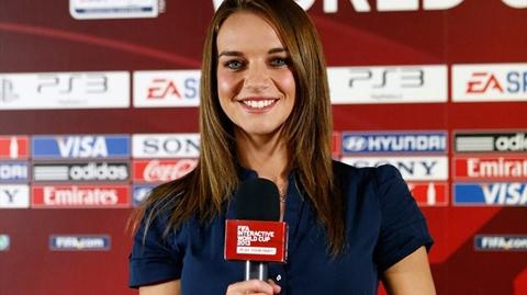 Kay Murray - Cô đang làm việc cho kênh truyền hình của Real Madrid (Tây Ban Nha). Xinh đẹp, thành thạo nhiều ngoại ngữ, Kay tham gia vào rất nhiều chương trình nổi tiếng.
