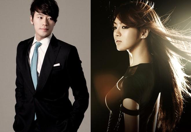 """Chuyện tình giữa Hyoyeon (SNSD) và bạn trai cũ Kim Jun Hyung bị tiết lộ theo cách chẳng giống ai. Cô gặp gỡ và yêu nhà văn hơn 10 tuổi trong 2 năm qua. Nhưng công chúng chỉ biết đến mối tình này khi tất cả đã hạ màn. Ngày 1/4, tin đồn Hyoyeon hành hung bạn trai tới mức phải tới đồn cảnh sát gây xôn xao dư luận. Sau đó, """"người đàn ông bí ẩn"""" lộ diện là bạn trai của cô, và hiện cả 2 đã chia tay. Người này xác nhận mình đã gọi cảnh sát cầu cứu khi Hyoyeon đùa mình sẽ nhảy xuống từ tầng 2. Hyoyeon vung tay và lỡ đập vào mắt anh ta. Nhưng không nhiều người tin vào câu chuyện đùa vui ngày Cá tháng tư. Nghi vấn Hyoyeon muốn tự tử vì tình, hoặc tự tử vì bị bắt nạt trong nhóm vẫn để ngỏ, dù SM dọa kiện ai tung tin đồn thất thiệt."""