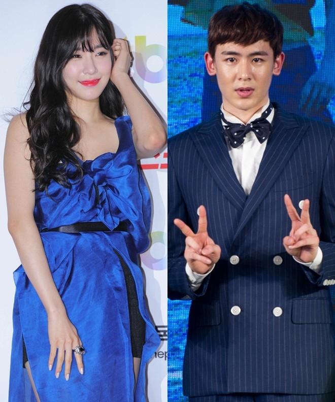 """Chỉ vài ngày sau tin đồn hành hung bạn trai của Hyoyeon, Tiffany (SNSD) và Nickhun (2PM) thừa nhận yêu nhau. Tưởng chừng như cô nàng """"mắt cười"""" của SNSD và """"hoàng tử Thái"""" là cặp đôi hoàn hảo, nhưng mối tình cũng có không ít sóng gió. Về phía Tiffany, fan cuồng vẫn gán ghép cô và thành viên cùng nhóm Taeyeon. Vì quá tôn thờ """"cặp đôi"""" chỉ tồn tại trong trí tưởng tượng và truyện chế (fan fic), fan chỉ trích Tiffany phản bội. Nickhun cũng hứng đá từ lực lượng fan girl mong anh thành đôi cùng Victoria f(x). Trước đó, Nickhun từng tham gia chương trình We Got Married, đóng vai vợ chồng hờ với Victoria."""