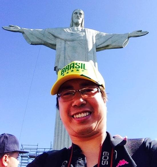 Nhà báo Trương Anh Ngọc cũng đang có mặt ở Brazil tác nghiệp tại World Cup 2014.