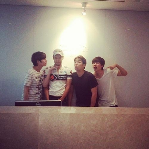 Super Junior nhí nhố bên Siwon