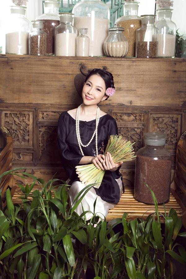 Diễn viên múa Linh Nga tự tin làm phụ nữ đảm đang