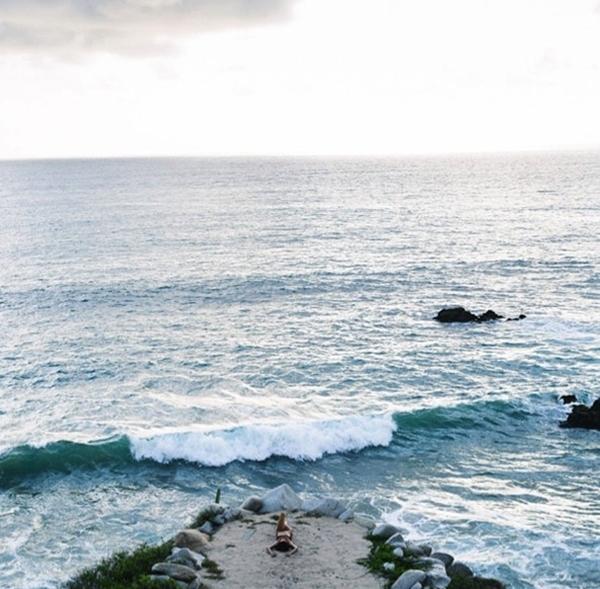 Alessandrea Ambrosiorất thích dành thời gian rảnh của mình cho việc tận hưởng bãi biển của riêng cô.
