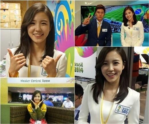 [Bóng Đá] Nữ phóng viên Hàn dễ thương đốn tin dân mạng