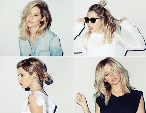 Trẻ trung, xinh đẹp, quyến rũ là những gì mà người ta có thể nhận xét khi nhìn vào những bức hình này của Ashley Tisdale