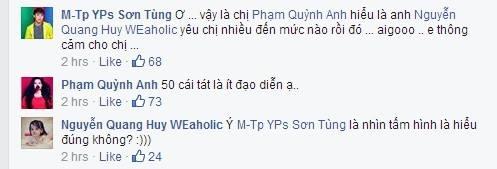 [Mlog Sao] Sơn Tùng tặng Phạm Quỳnh Anh 50 cái tát, Hà Hồ mặt xấu đi ăn chè