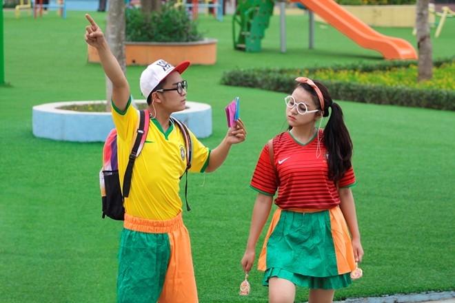 Những kỷ niệm tuổi thơ của Duy Nam và Ngọc Anh đều gắn liền cùng bóng đá.