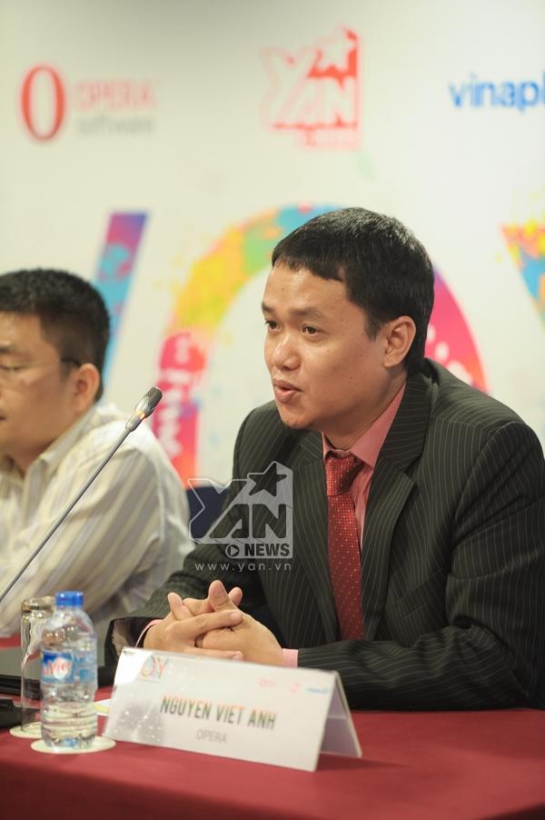 Ông Nguyễn Việt Anh - đại diện từ phía công ty Opera.