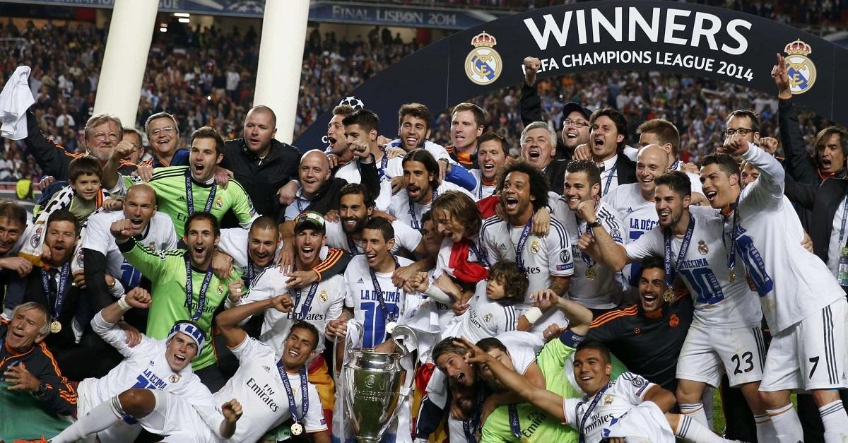 Real kiếm được 57,4 triệu euro tiền thưởng từ chức vô địch Champions League.
