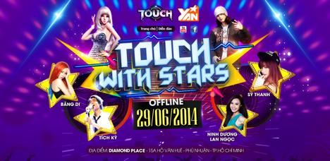 """Giới trẻ Sài thành háo hức chờ đón offline """"Touch with stars"""""""