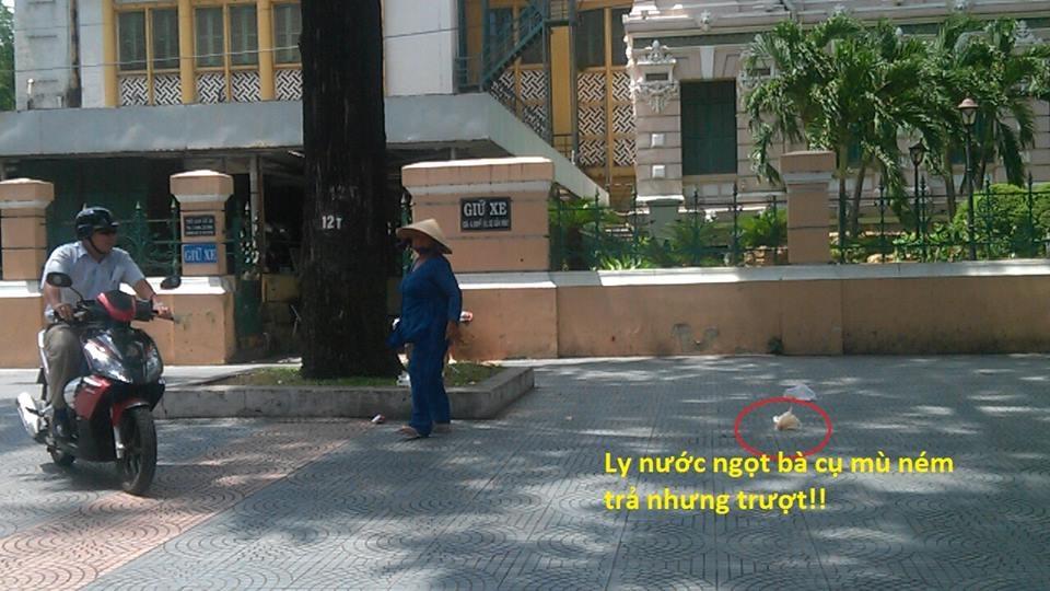Phẫn nộ với vụ bà cụ mù bị ăn hiếp giữa trung tâm Sài Gòn