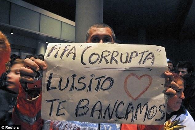 Người Uruguay chỉ trích FIFA