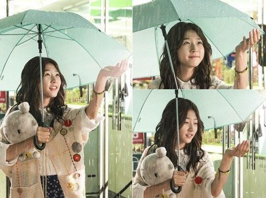 Hình ảnh đáng yêu của Kim Sae Ron trong phim High School