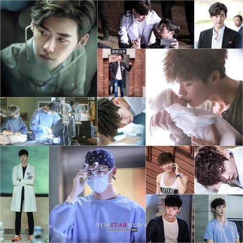 Những hình ảnh của Lee Jong Suk trong phim Doctor Stranger