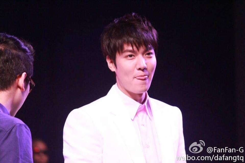 Ngất ngây với độ cực dễ thương của Lee Min Ho tại Thượng Hải