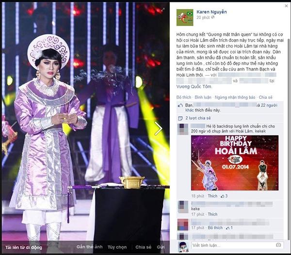 """Hoài Lâm được Hoa hậu Thu Hoài đãi tiệc sinh nhật """"khủng"""""""