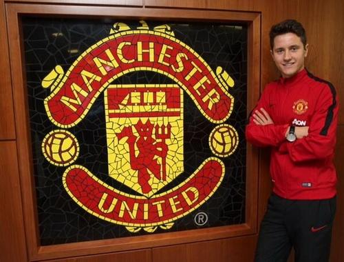Ander Herrera đã là người của Manchester United.