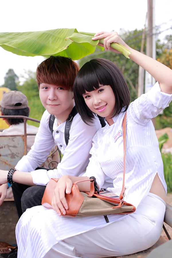"""Huy Khánh diễn xuất trong MV """"Gửi cho anh"""" của Khởi My - Tin sao Viet - Tin tuc sao Viet - Scandal sao Viet - Tin tuc cua Sao - Tin cua Sao"""