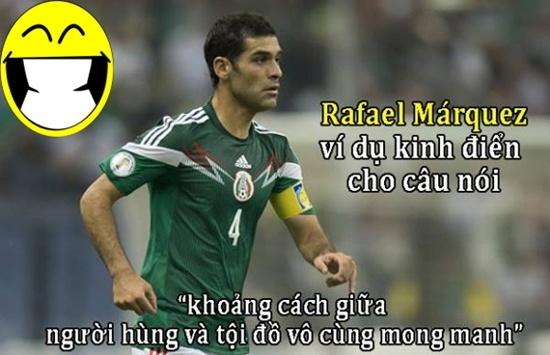 Đội trưởng Mexico, người hùng và cũng là tội đồ của tuyển Mexico.