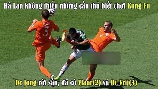 Không De Jong đã có Vlaar và De Vrij.