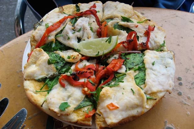 Lạ lùng những món pizza trên thế giới