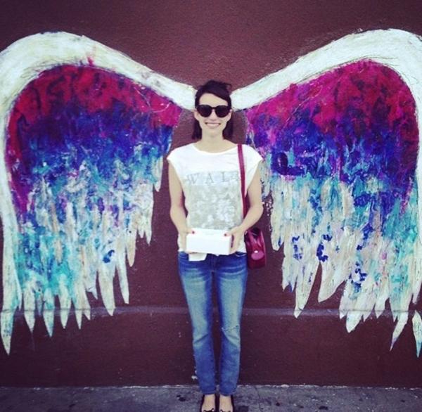 Emma Roberts dường như đã tìm thấy được đôi cánh cho riêng mình.