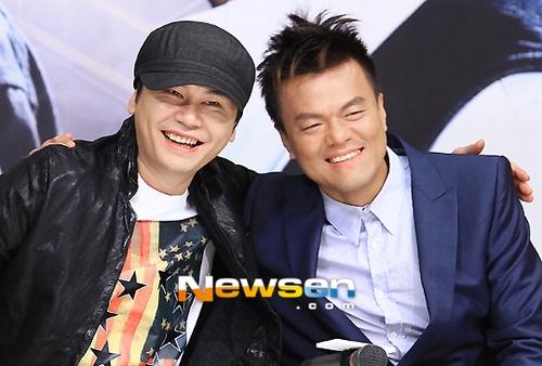 Park Jin Young và Yang Hyun Suk là những người bạn thân