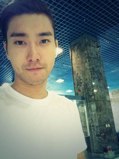 Siwon khoe hình đẹp trai ở Đài Loan