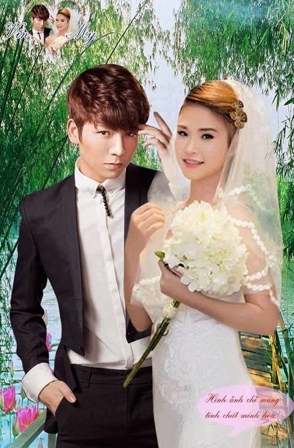 """Thậm chí, ảnh cưới của cặp chị em cũng đã được fan """"chế"""" xong. - Tin sao Viet - Tin tuc sao Viet - Scandal sao Viet - Tin tuc cua Sao - Tin cua Sao"""